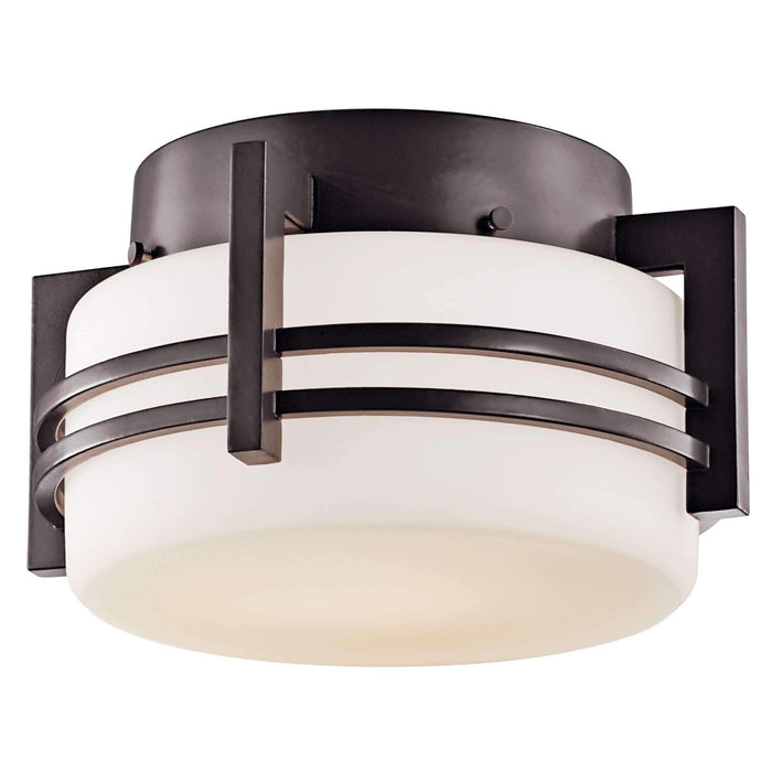 Pacific Edge Outdoor Ceiling 1 Light - Architectural Bronze