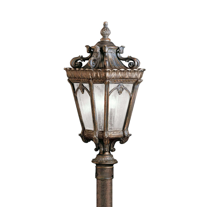 Tournai Outdoor Post Mount 3 Light - Londonderry