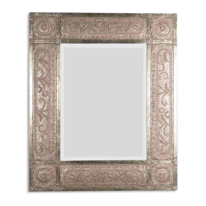 Harvest Serenity Champagne Gold Mirror