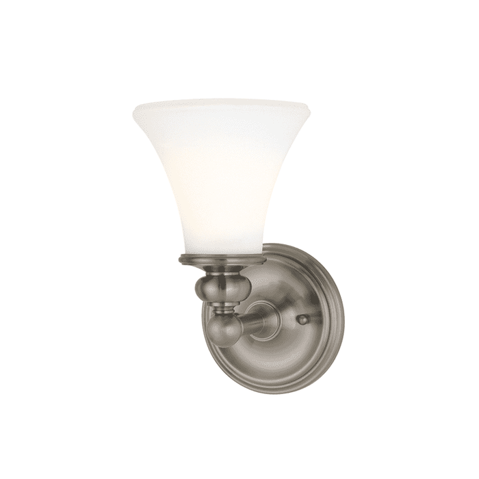 Weston 1 Light Bath Bracket Satin Nickel