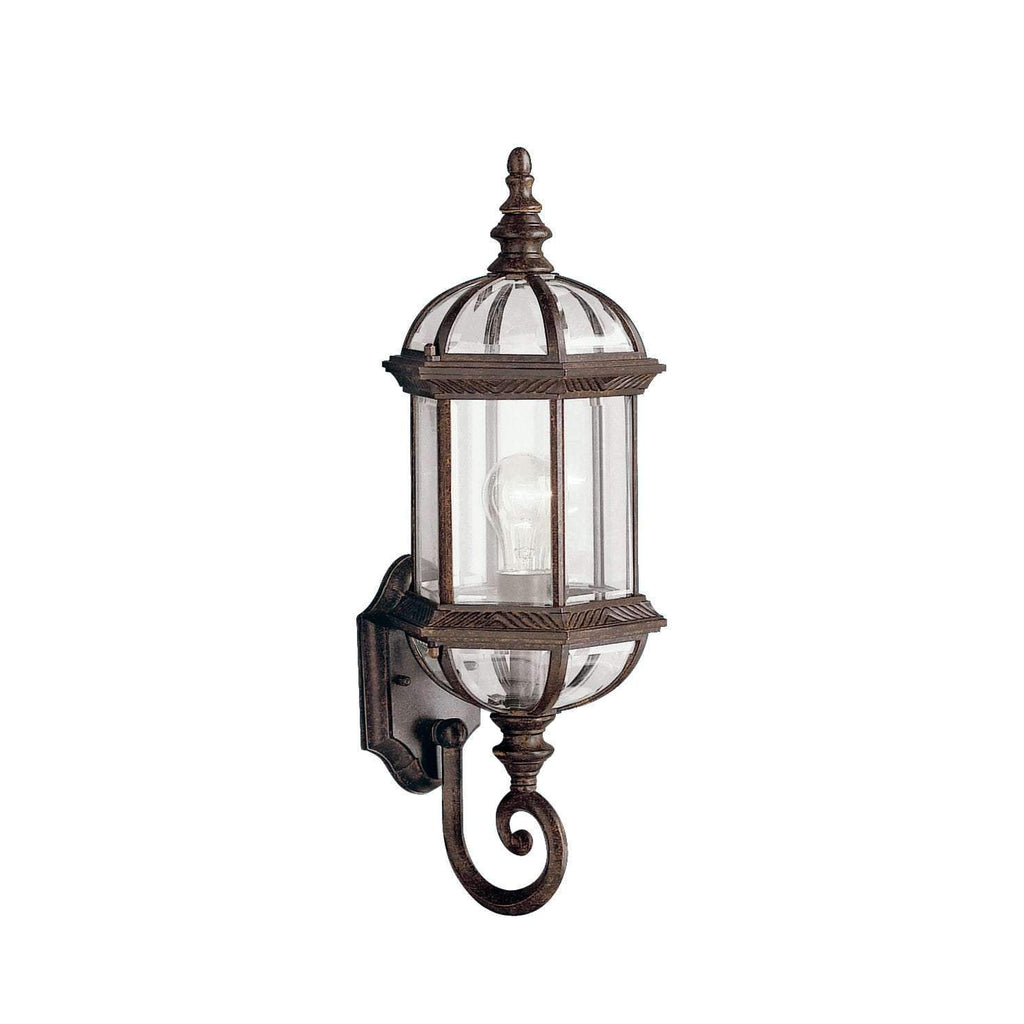 Barrie Outdoor Wall 1 Light - Tannery Bronze