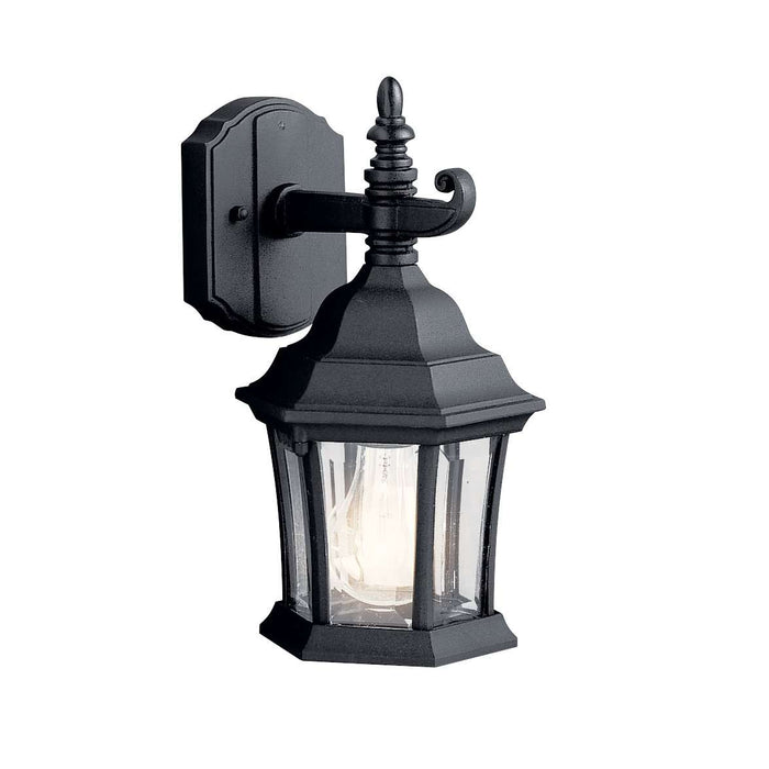 Townhouse Outdoor Wall 1 Light - Black