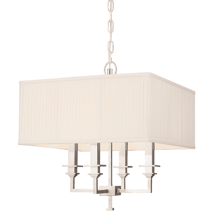 Berwick 4 Light Chandelier Polished Nickel