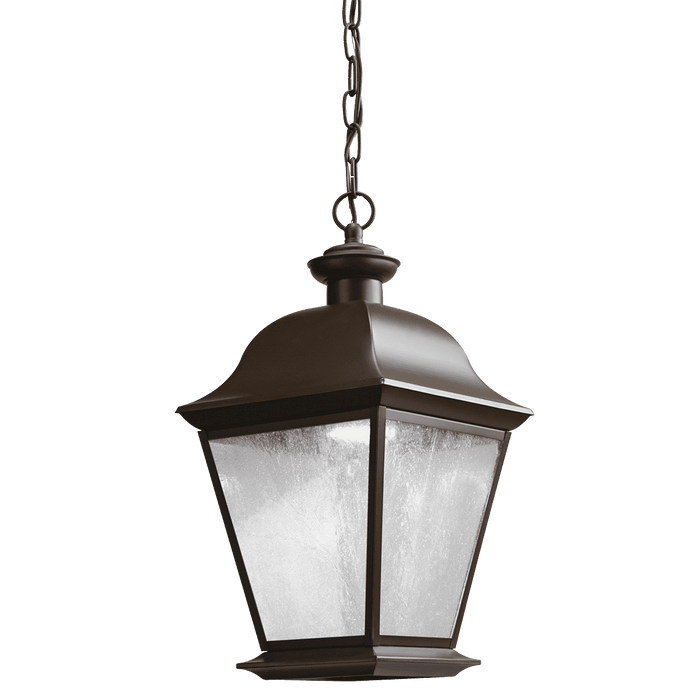 Mount Vernon Outdoor Pendant 1 Light - Olde Bronze