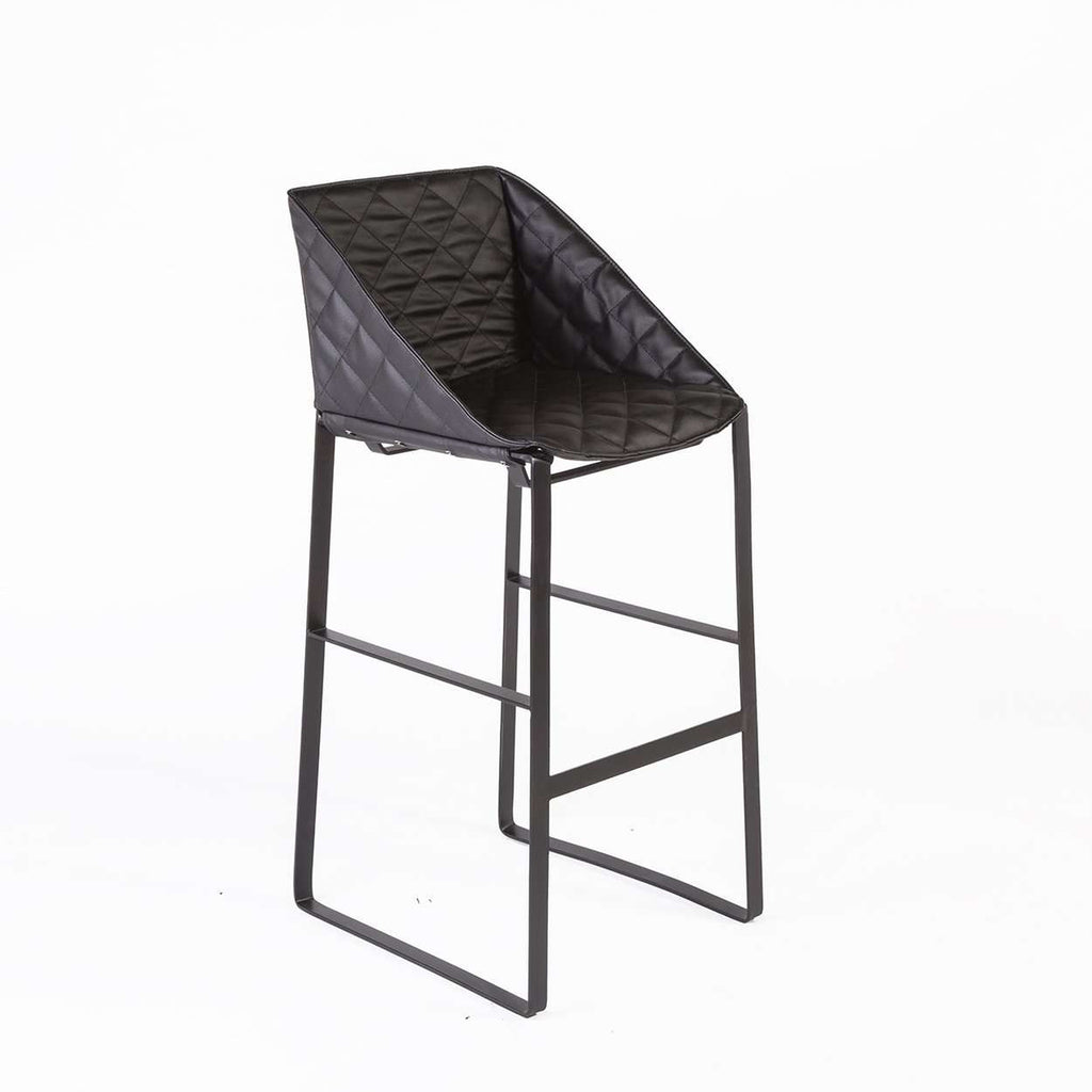 Modern Dabir Bar Stool - Black