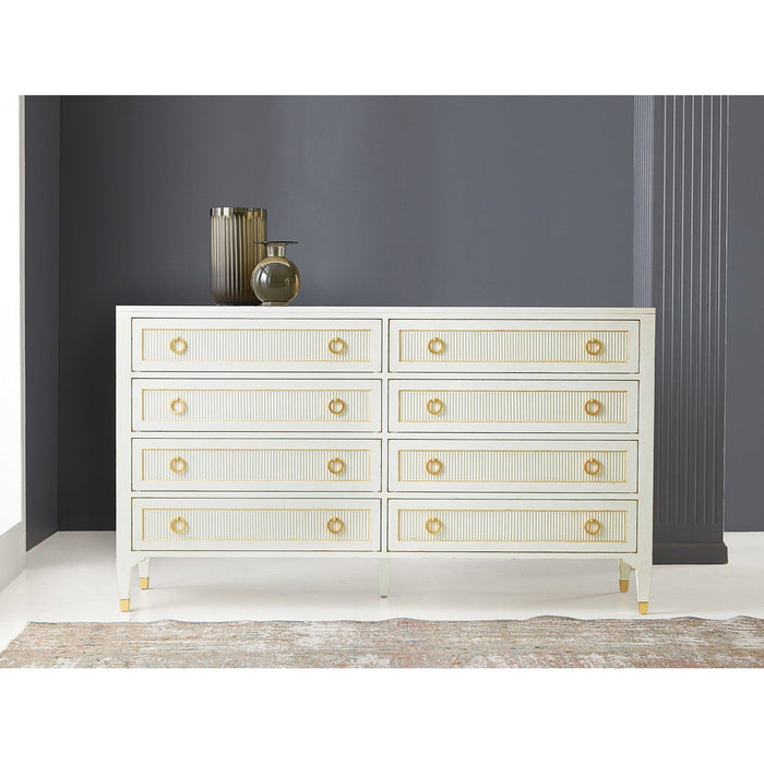Swedish Reeded Dresser