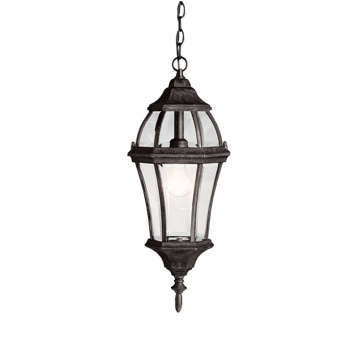 Townhouse Outdoor Pendant 1 Light - Tannery Bronze