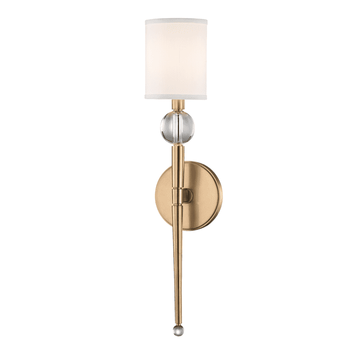 Rockland 1 Light Wall Sconce Aged Brass