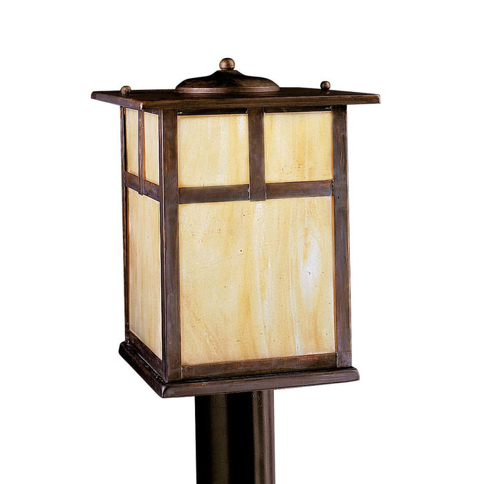 Alameda Outdoor Post Mount 1 Light - Canyon View