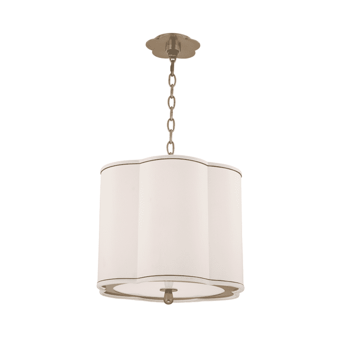 Sweeny 3 Light Pendant Aged Brass