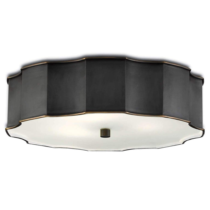 Wexford Brass Flush Mount