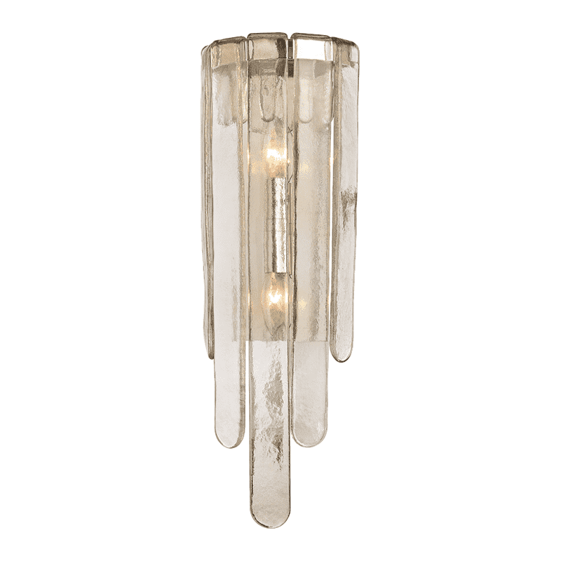 Fenwater 2 Light Wall Sconce Polished Nickel