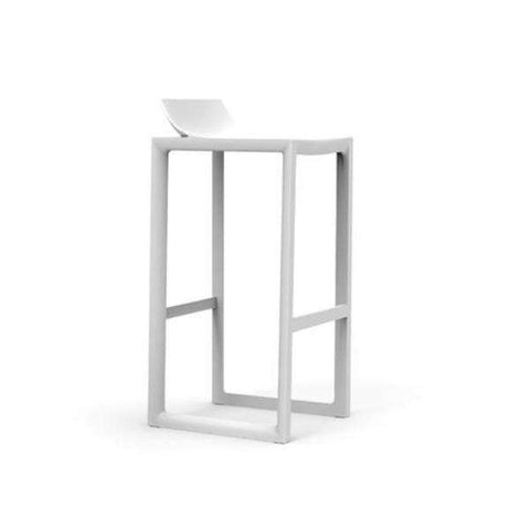 White Wall Street Bar Stool by Vondom