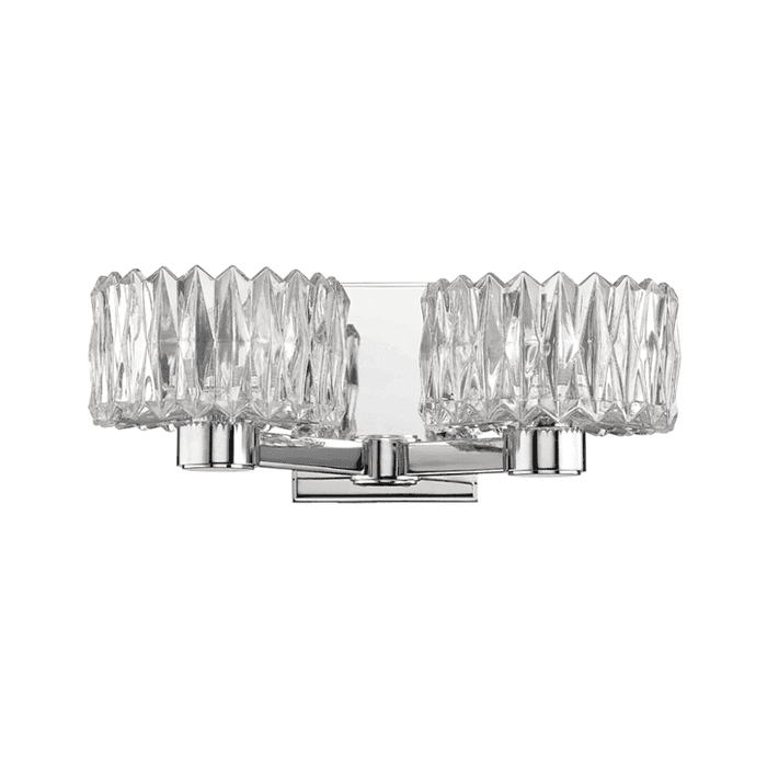 Anson 2 Light Bath Bracket Polished Chrome
