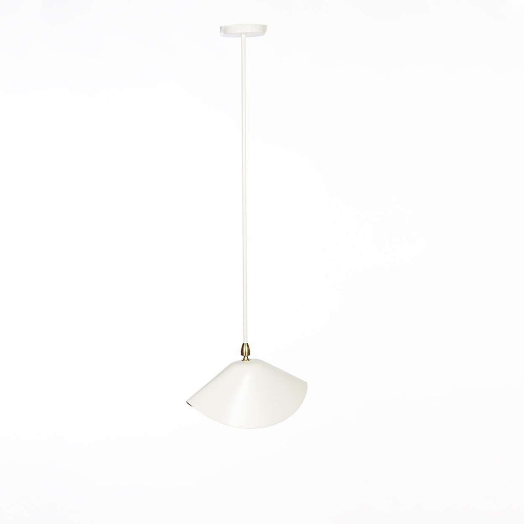 Mid-Century Modern Reproduction MCL-LIB Library Ceiling Lamp - White Inspired by Serge Mouille