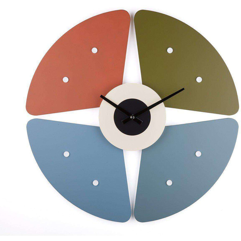 Mid-Century Modern Reproduction Petal clock Inspired by George Nelson