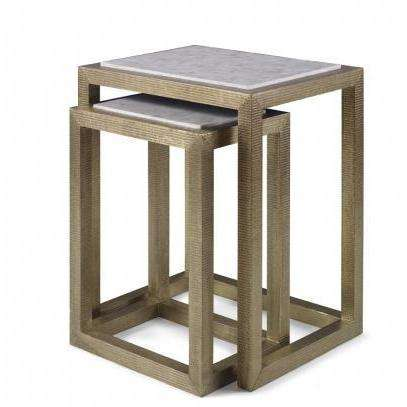 Mr. Brown Albaninni Nesting Table
