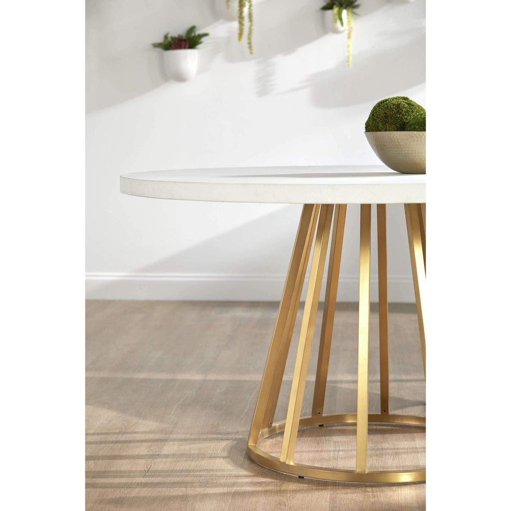 "Annex 54"" Round Dining Table Top"