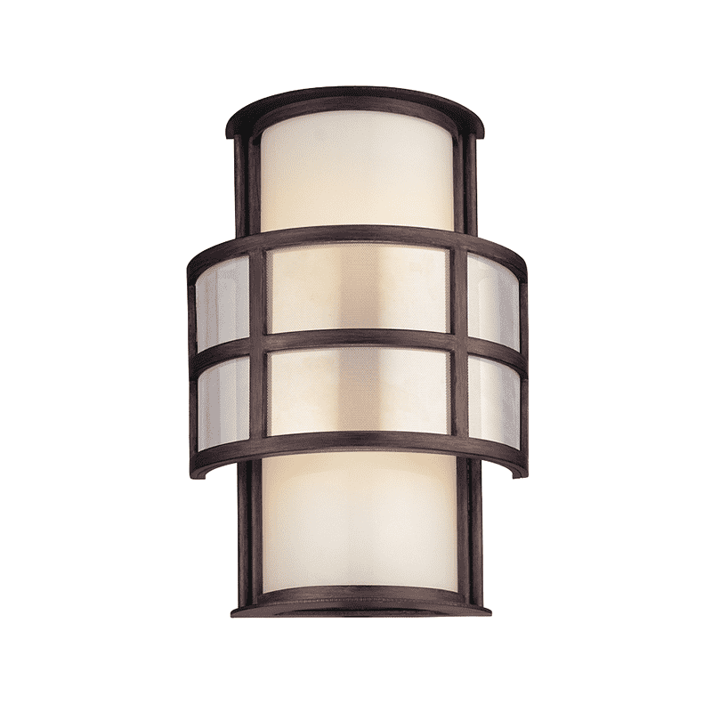 Discus 2Lt Wall Sconce Graphite