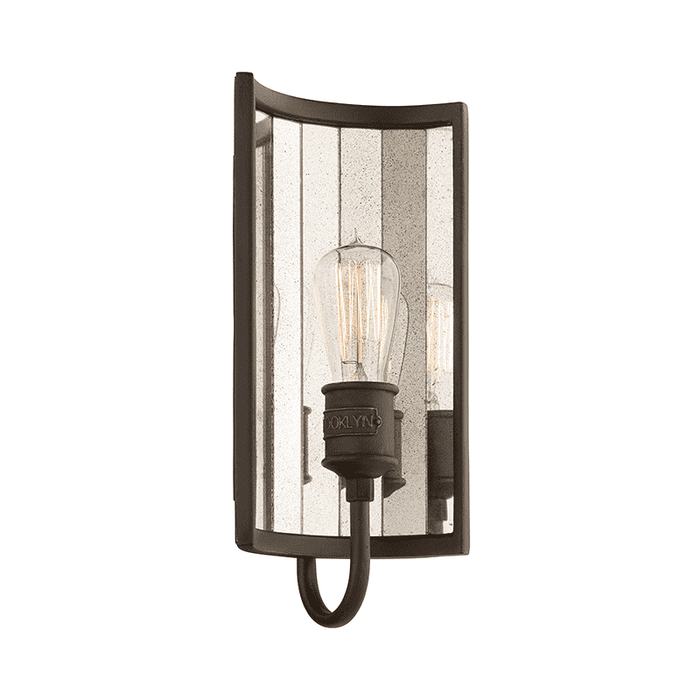 Brooklyn 1Lt Wall Sconce Brooklyn Bronze