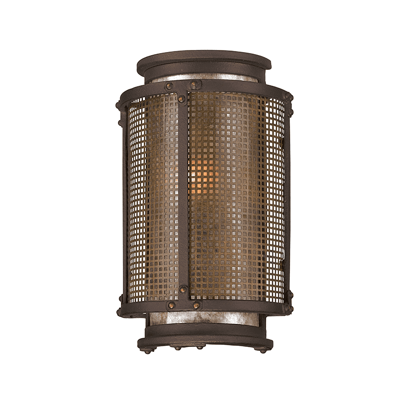 Copper Mountain 1Lt Wall Lantern Small Copper Mountain Bronze