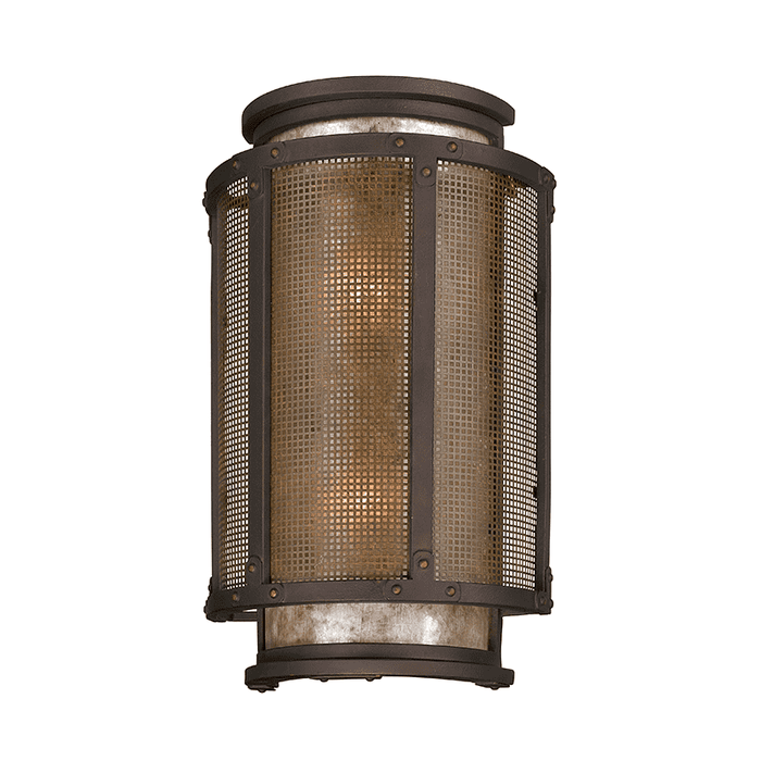 Copper Mountain 2Lt Wall Lantern Large Copper Mountain Bronze