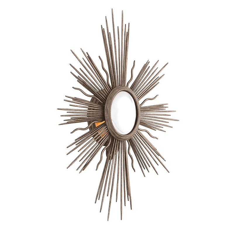 Blink 1Lt Wall Sconce Light Cottage Bronze