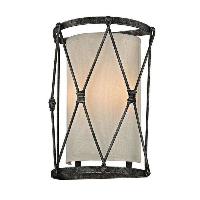 Palisade 2Lt Wall Sconce Aged Pewter