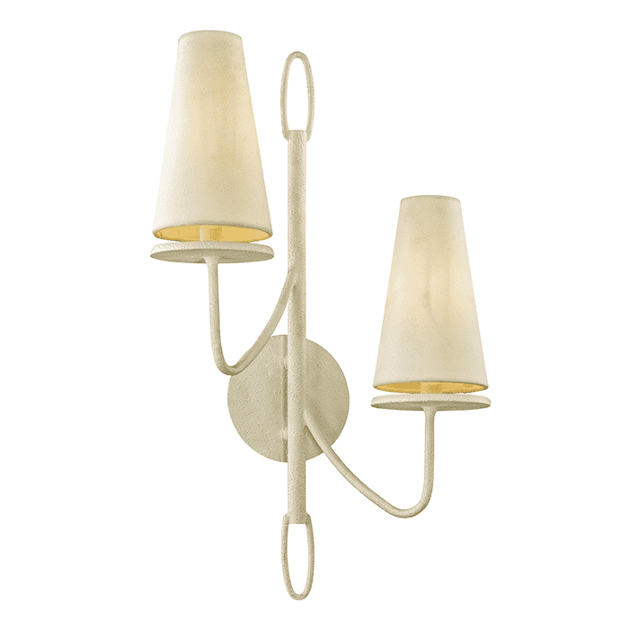 Marcel 2Lt Wall Sconce White