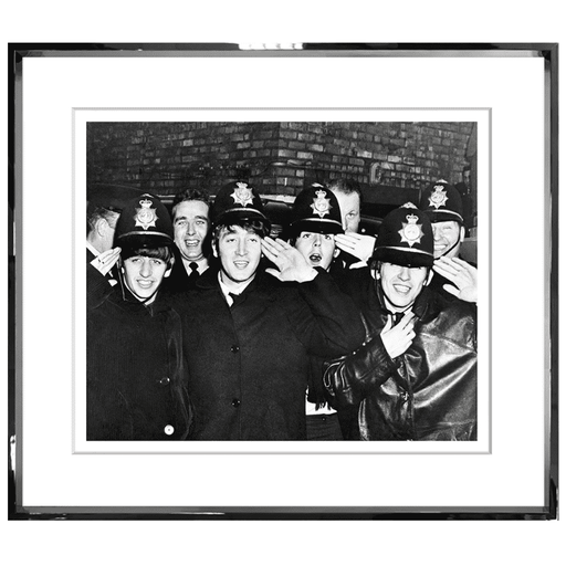 The Beatles Police Archival Print