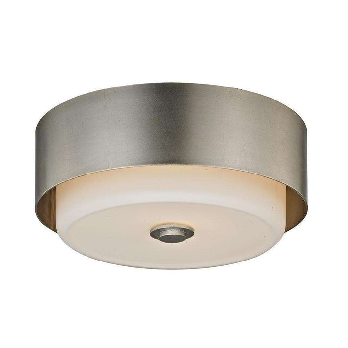 Allure 1Lt Ceiling Flush Silver Leaf