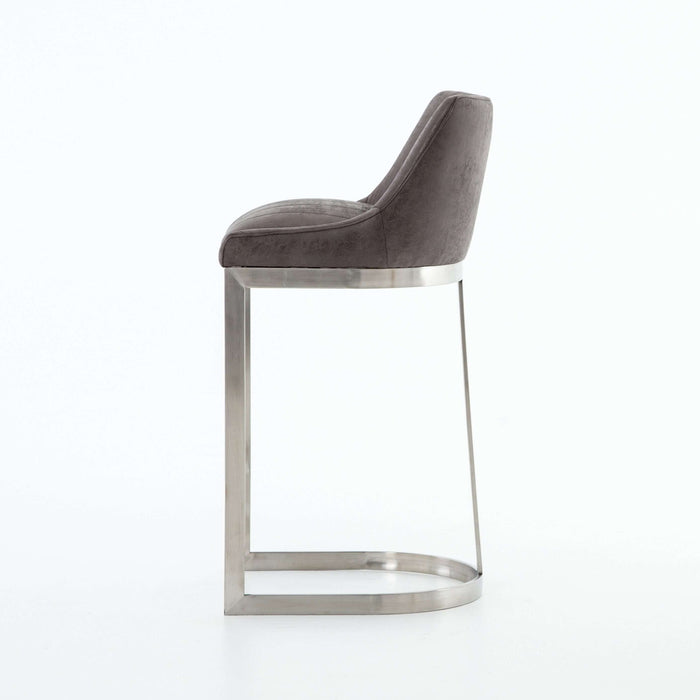 Cory Bar Stool in Vintage Graphite