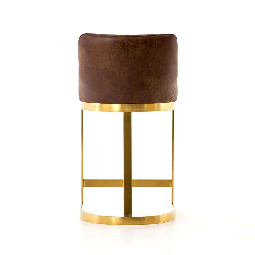 Rory Counter Stool in Vintage Tobacco