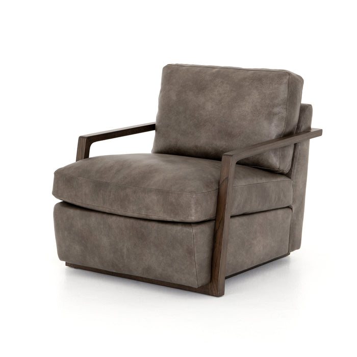 Judd Chair - Deacon Slate Leather