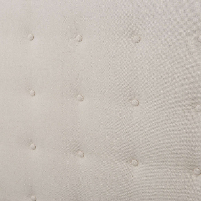 Jefferson Upholstered Qn Bd-Snow Cream
