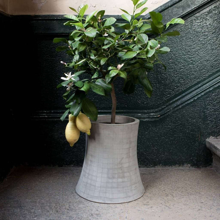 Nuclear plant L Flower Pot by Lyon Beton