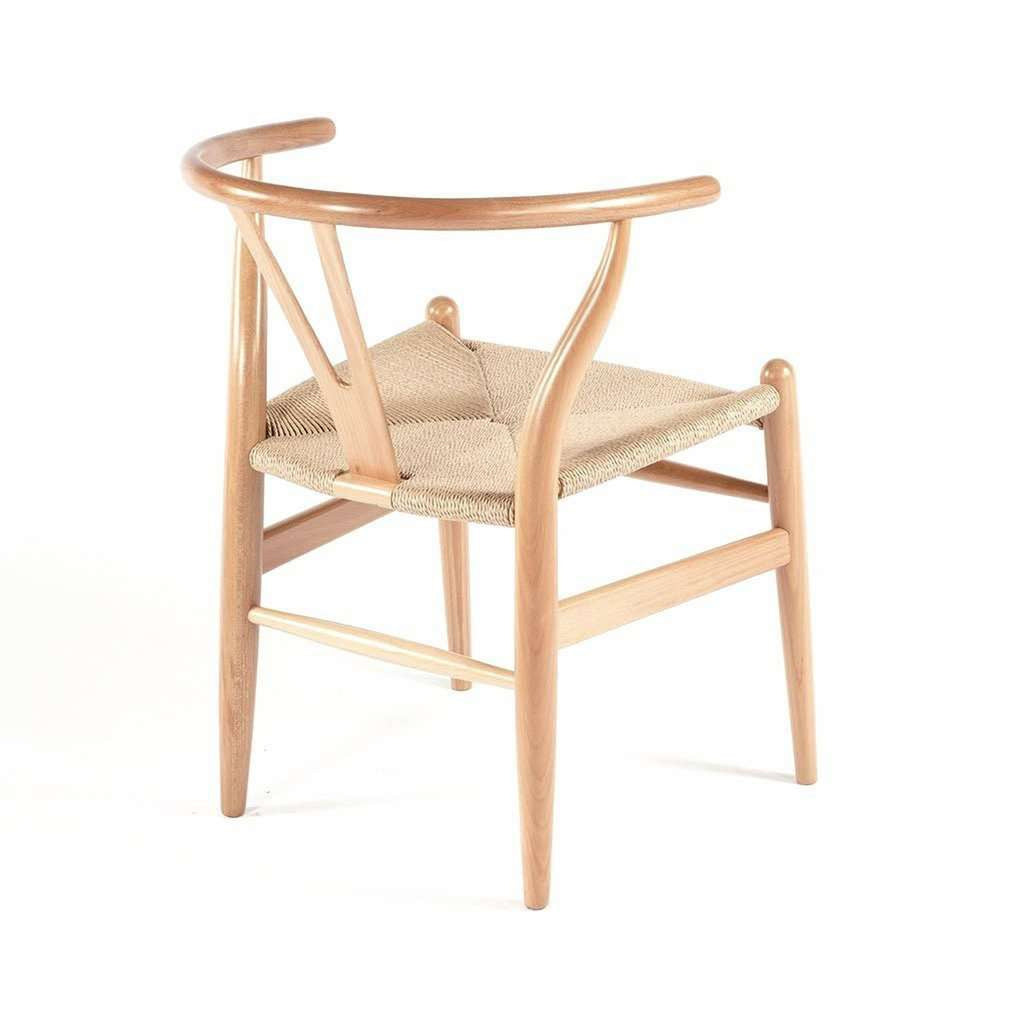 CH24 Wishbone Y Chair -Natural  [staff pick]