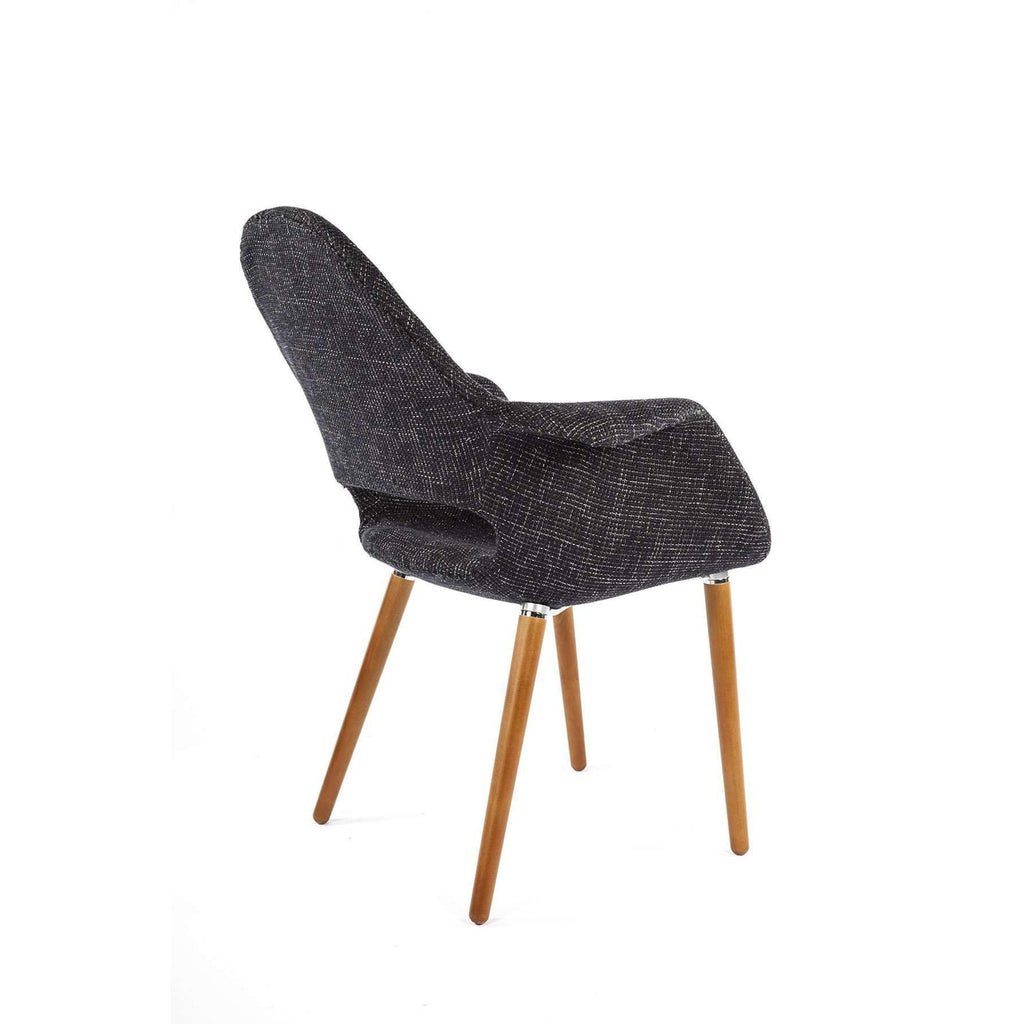 Organic Chair - Black Twill