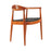 Mid Century Wegner Kennedy Chair