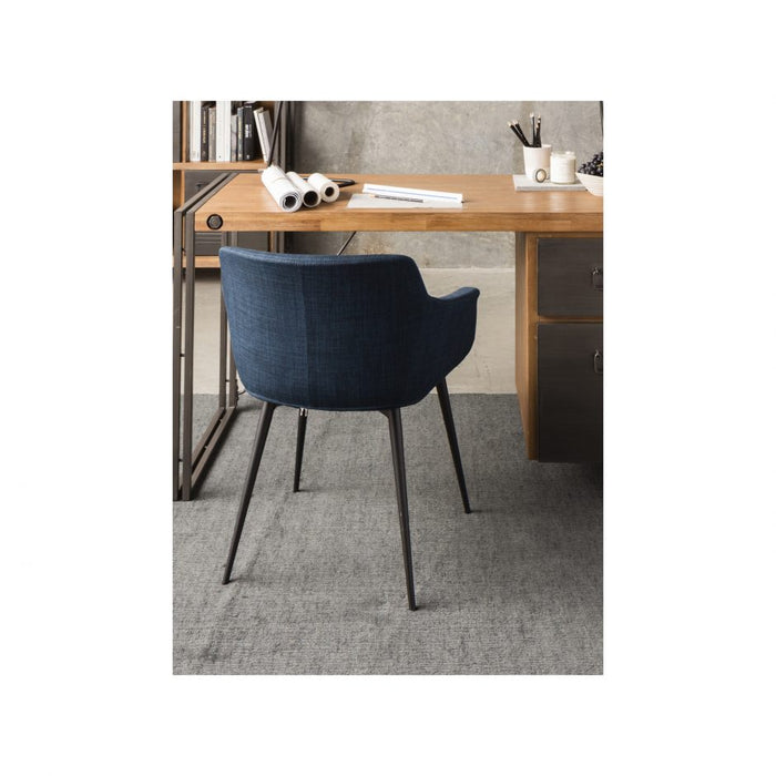 RONDA ARM CHAIR BLUE- SET OF 2