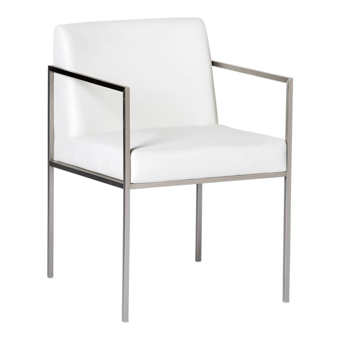 CAPO ARM CHAIR WHITE- SET OF 2
