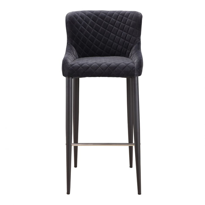 ETTA BARSTOOL DARK GREY