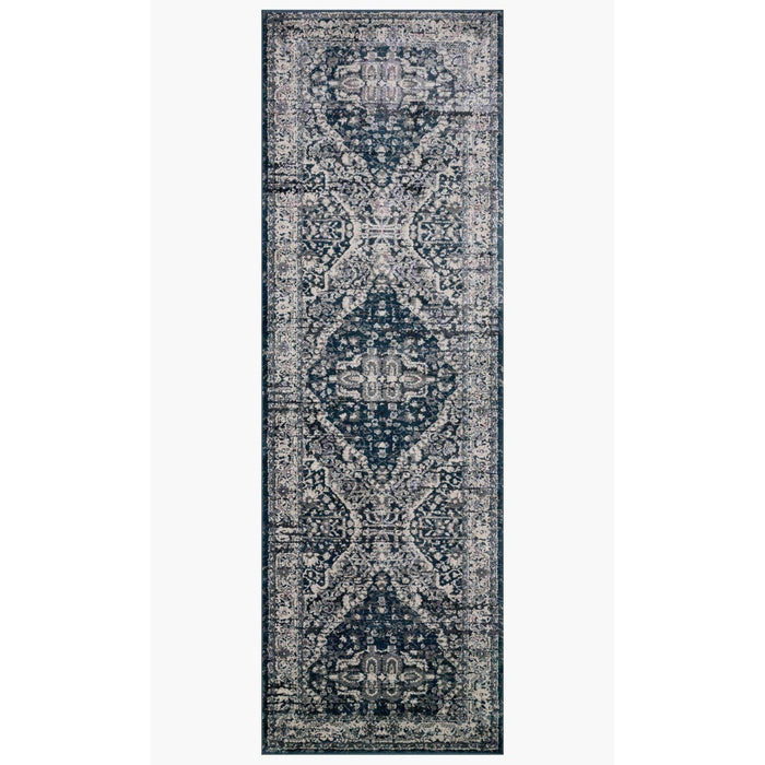 Magnolia Home Everly VY-02 Grey / Midnight Area Rug