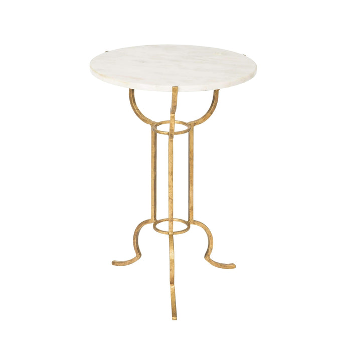 Portrack House Gold Garden Table No. 2