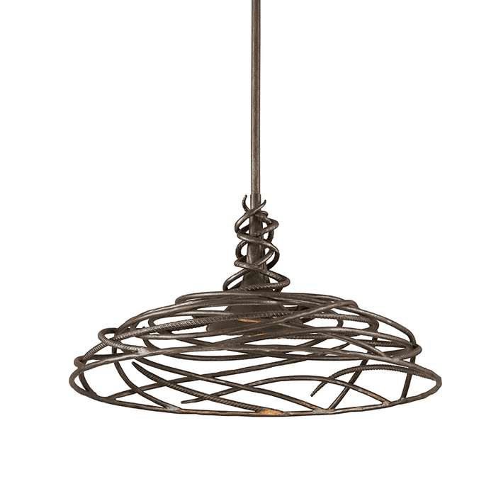 Sanctuary 1Lt Pendant Dining Cottage Bronze
