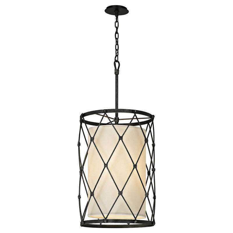 Palisade 4Lt Pendant Aged Pewter
