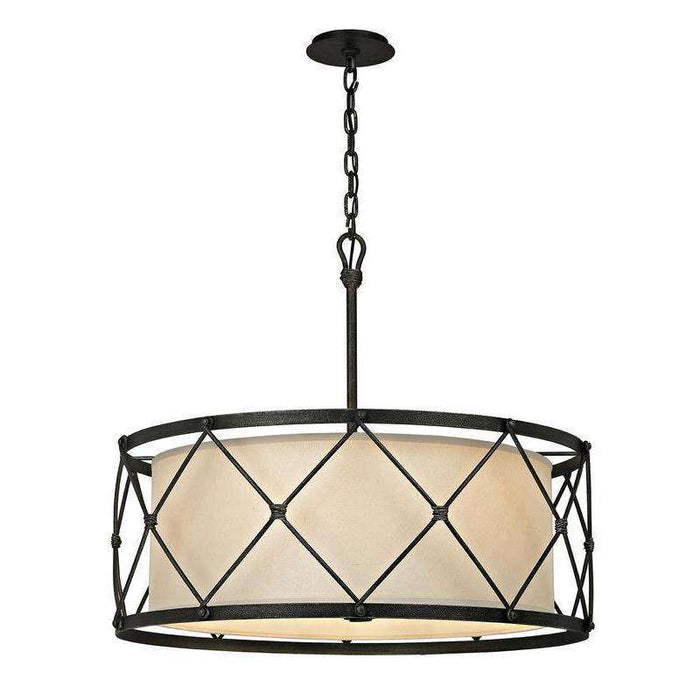 Palisade 6Lt Pendant Dining Aged Pewter