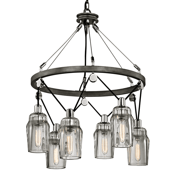 Citizen 6Lt Pendant Medium Graphite And Polished Nickel