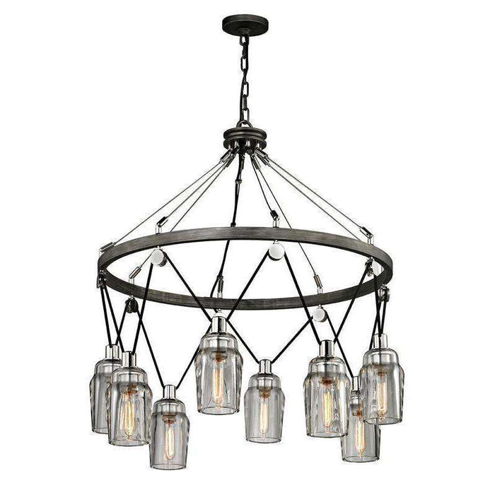 Citizen 8Lt Pendant Large Graphite And Polished Nickel