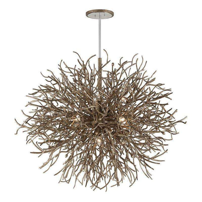 Sierra 12Lt Pendant Distressed Bronze